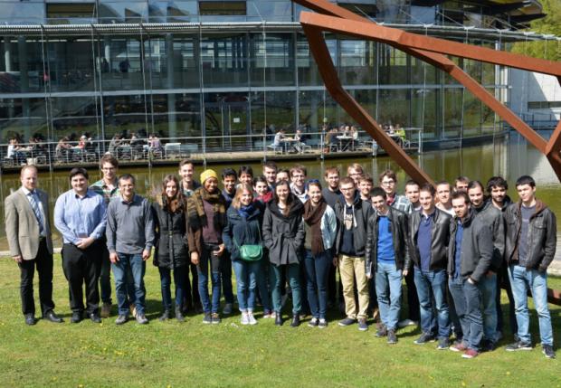 Austauschprogramm mit SIGMA in Clermont-Ferrand