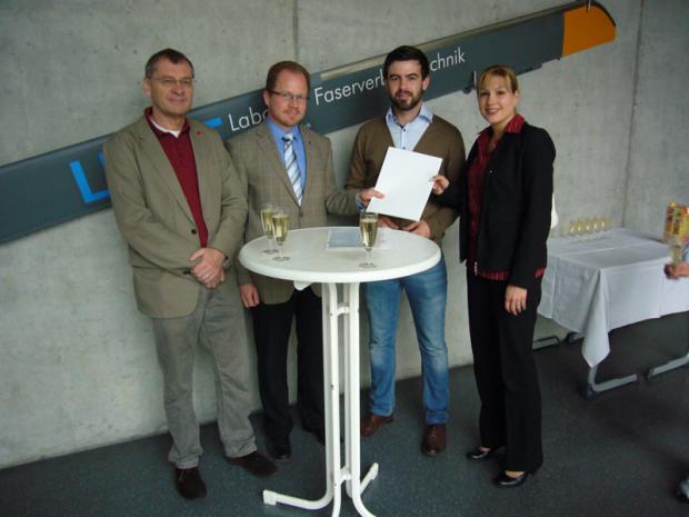 BMW Group sponsert Labor Faserverbundtechnik