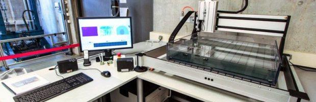 Ultraschallprüfanlage - Bild
