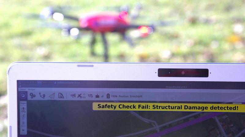 Patentiert sicherer Betrieb von Drohnen und Co