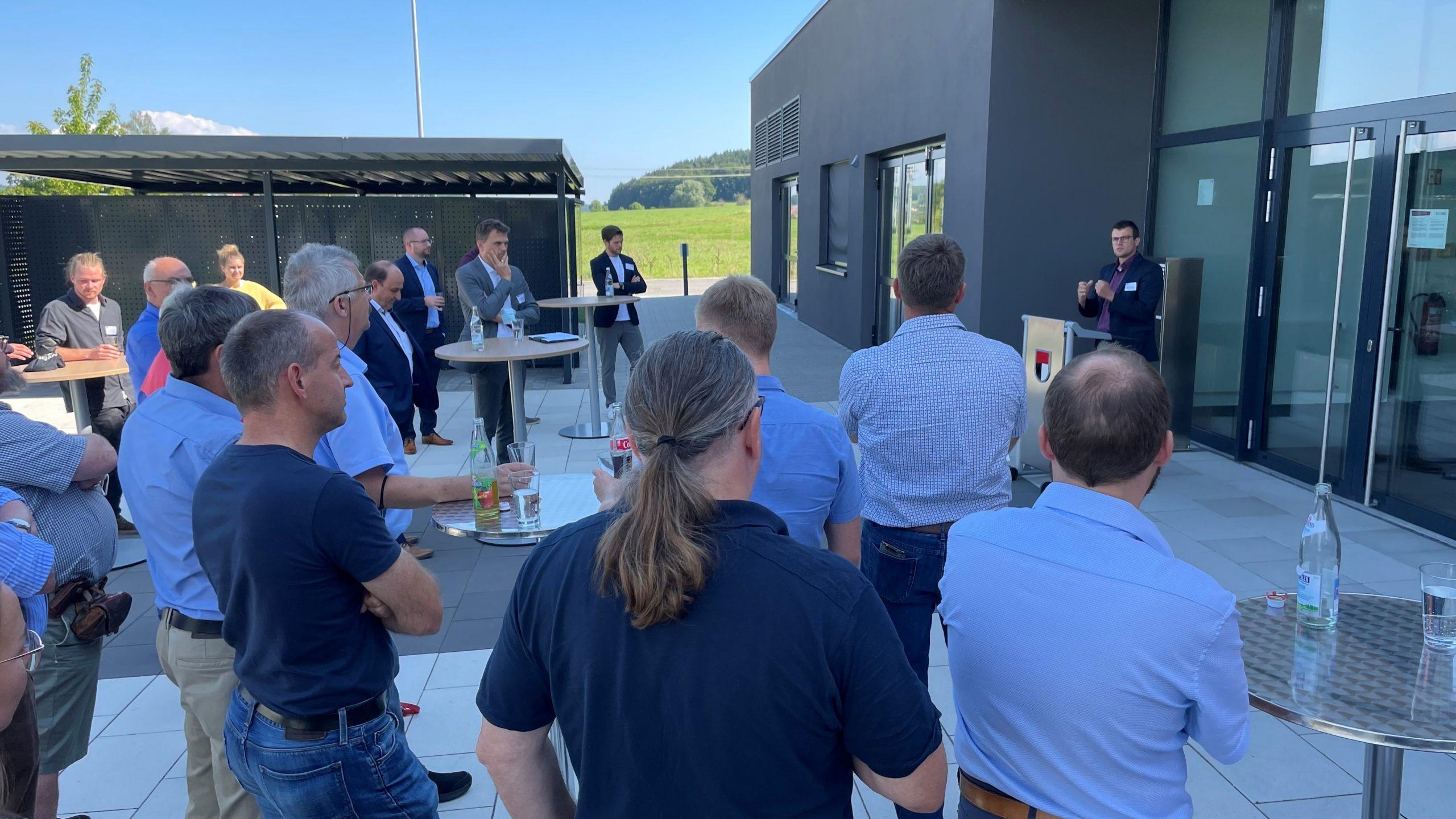 Stadtrat besucht OTH Regensburg und Technologie-Campus Parsberg/Lupburg